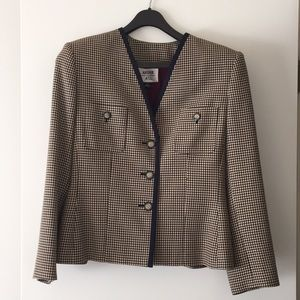 Kasper houndstooth jacket